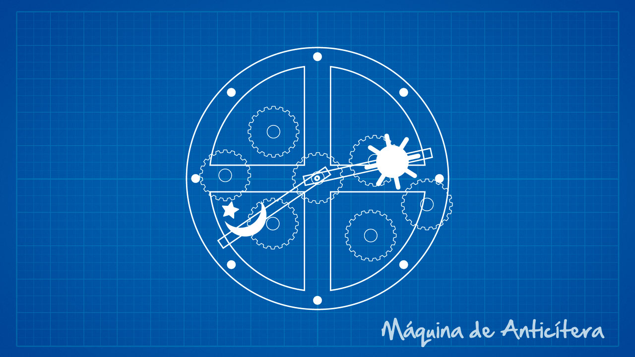 Maquina de Anticítera - uma representação lúdica