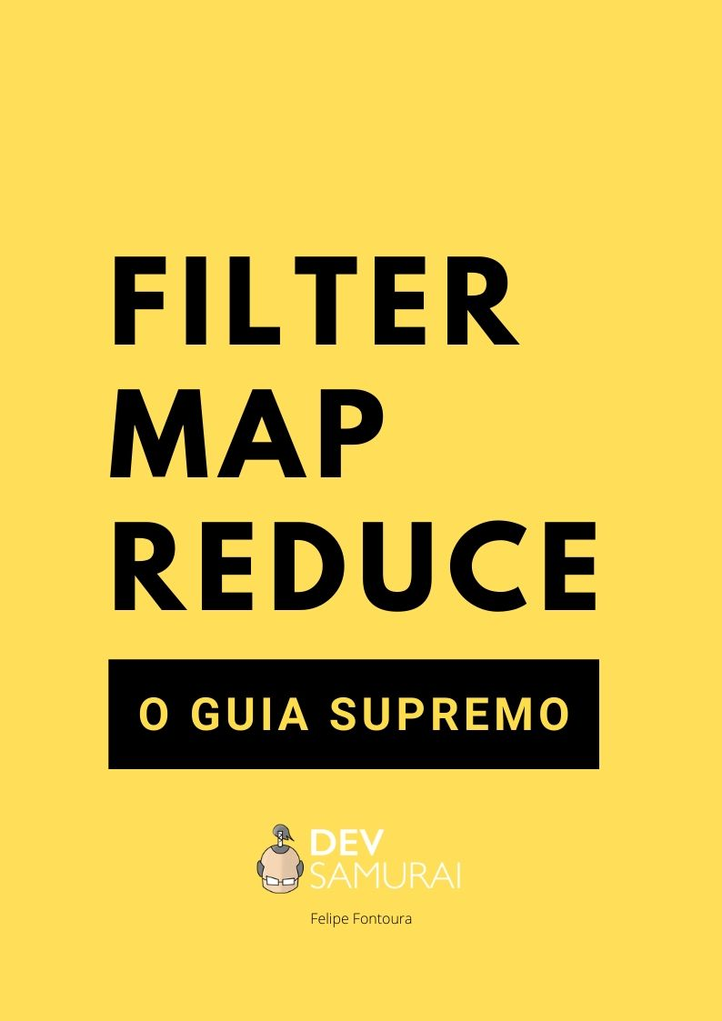 e-Book: Filter, Map, Reduce - O Guia Supremo