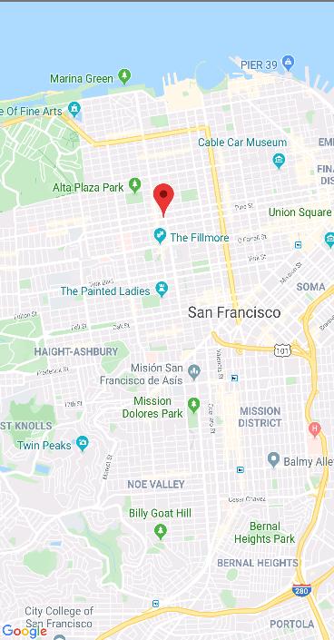 Imagem mapa na aplicação React Native/SamuraiMap - Dev Samurai
